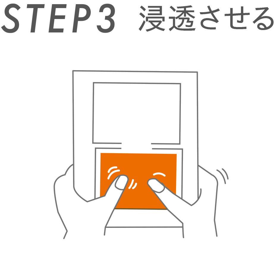 STEP3 浸透させる